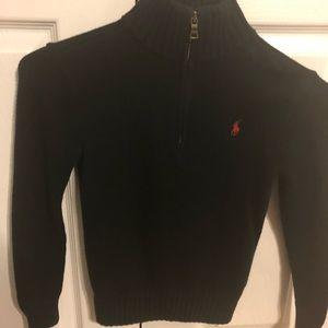 Ralph Lauren black boys sweater size 8